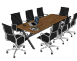 Meeting Table Download Model