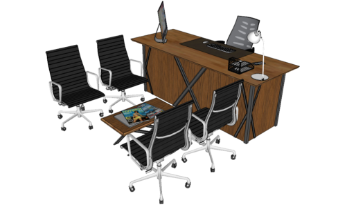 Office Table Download Model